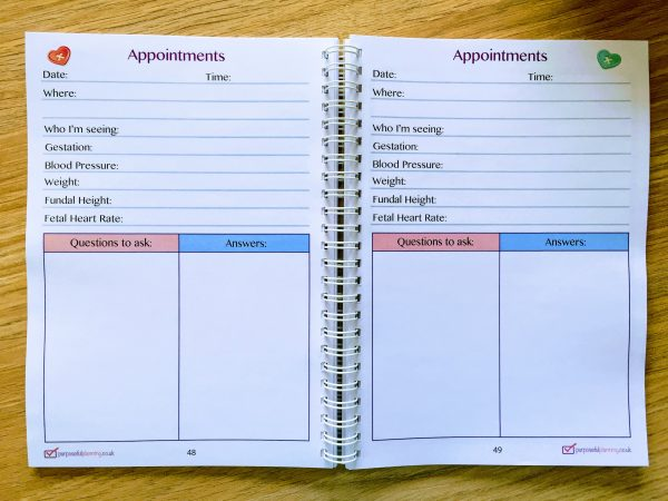 Appointments Pages
