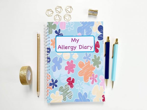 Allergy Diary notebook