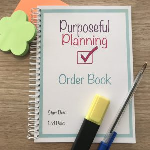 Business Custom Order Book