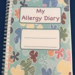 Allergy Diary Book Journal