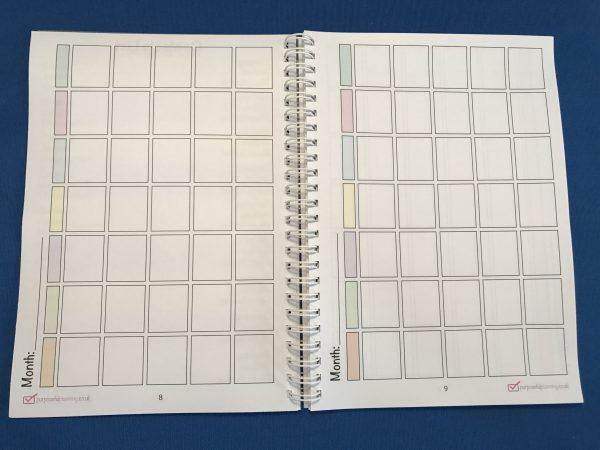 Party Planner Calendar