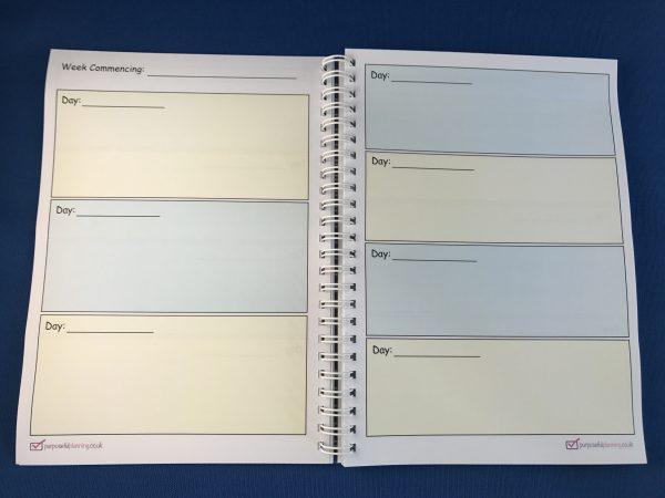Calendar Pages Teachers Notebook