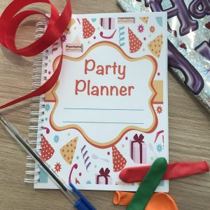 Ultimate Party Planner Notebook Photo