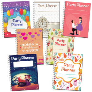 Party Planners Notebooks