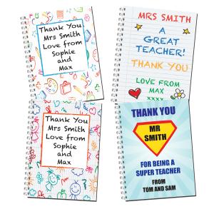 Thank You Teacher Notebooks Web