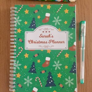 Christmas Planner Organiser Book 2019