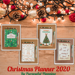 Christmas Planner Front Covers
