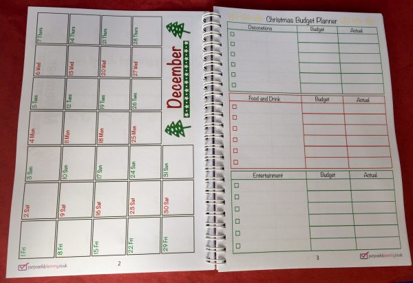 Calendar and Budget Planner