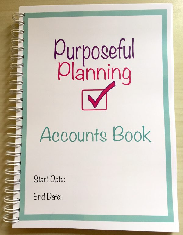 Business Custom Accounts Book