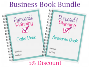 Business Book Bundle Order Book Accounts Book