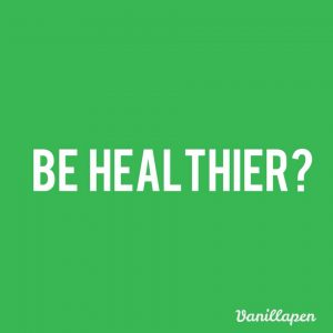 Be Healthier Resolution