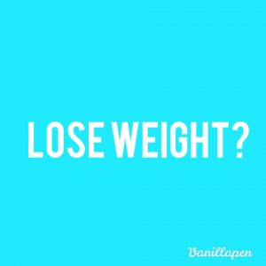Lose weight resolution