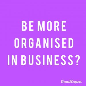 Be more organised resolution
