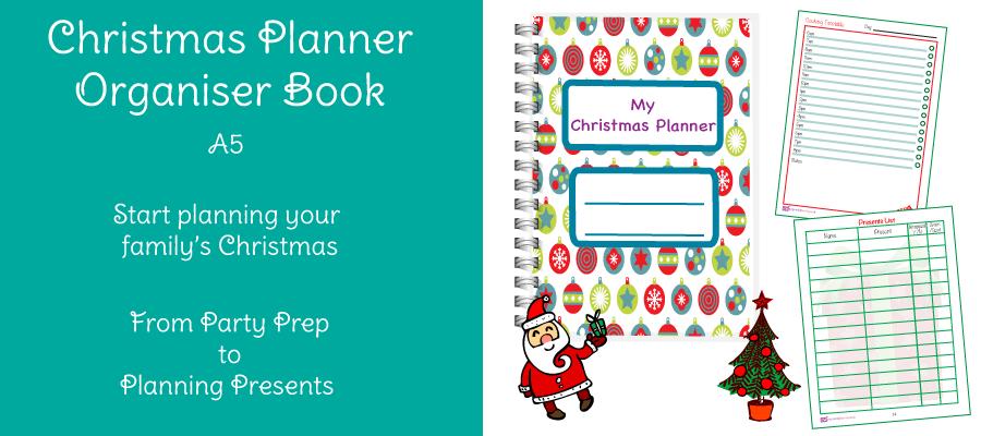 Christmas Planner Organiser Slide