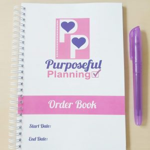 Business Custom Order Book Option A Banner
