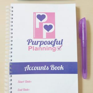 Business Custom Accounts Book Option A Banner