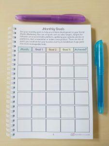 Social Media Monthly Goals
