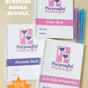 Three business book bundle 10% off