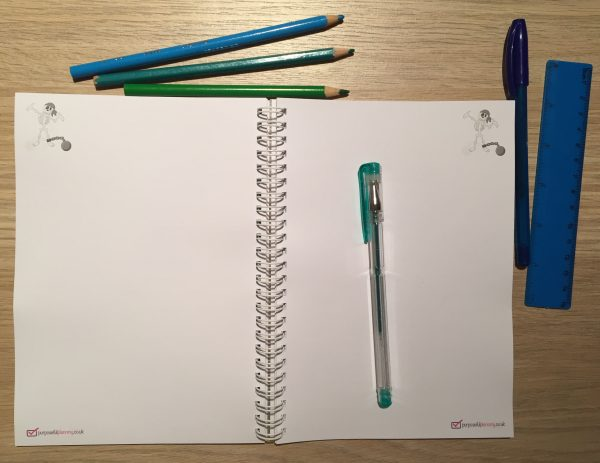 Blank Pirate Notebook Pages