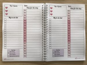 photo about Daily Planner Notebook called My Everyday Planner Laptop