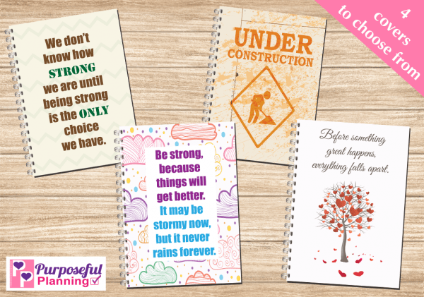 Mental Health Diary Covers