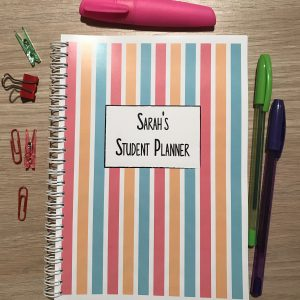 Student Planner Notebook