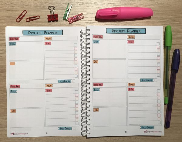 Student Planner Project Planner