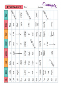 Timetables Example