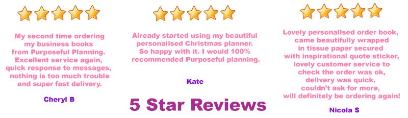 Reviews Purposeful Planning