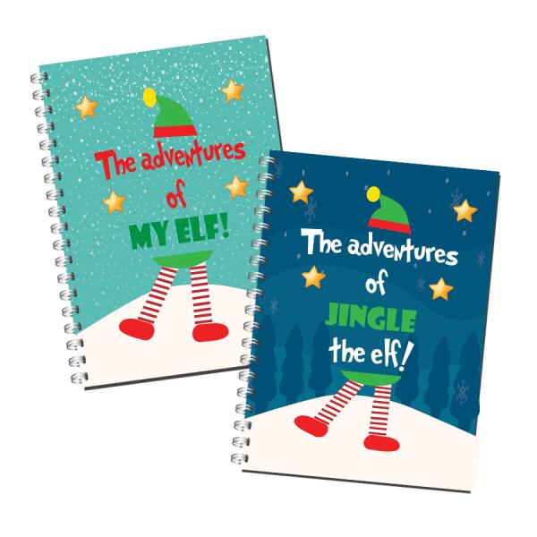 The Adventures of My Elf Journal Book