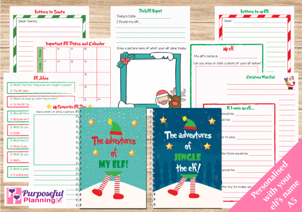 The Adventures of My Elf Inside Pages
