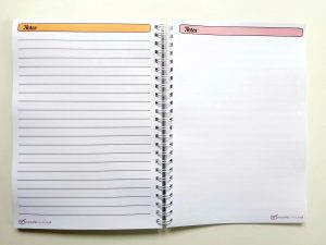 notes pages Business Calendar Planner