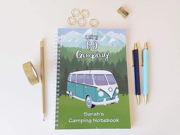 Camper Van Camping Notebook