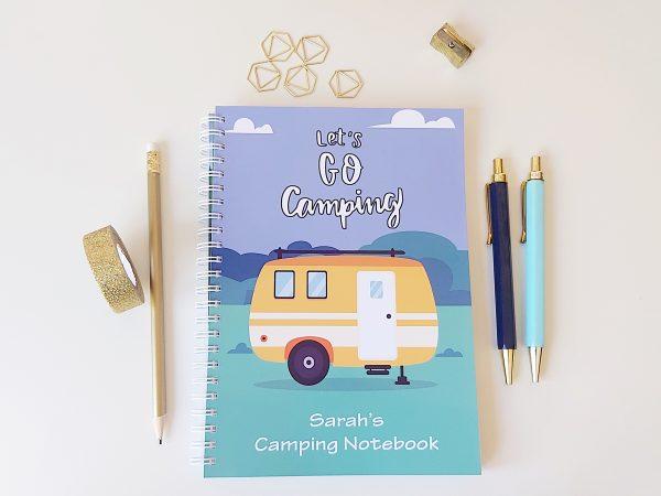 Caravan Camping Notebook