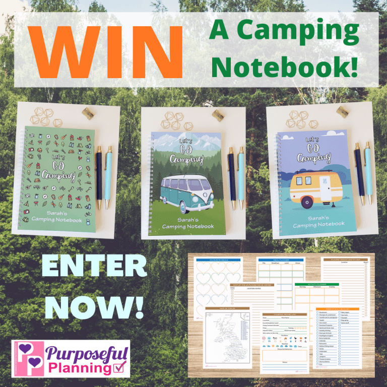 Win a Camping Notebook Competition 2021