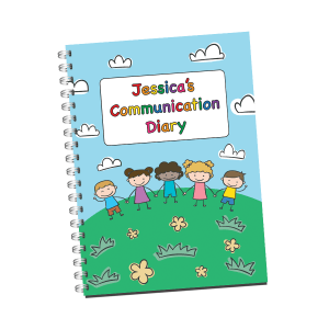 Personalised Daily Communication Diary cover